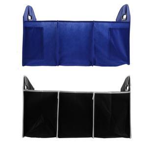 Автомобильный багажник Организатор сумка для хранения в Ёмкость автомобильный ящик для хранения вещей для заднего сидения автомобиля, сум...
