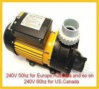 LX Whirlpool TDA 200 1.5kw 2Hp AMP Fiş Spa Pompa ile 1.5 inç parçaları