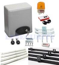 600KG Residential Auto Electric Sliding Gate Motors With Sensorwarn Light2 Remotes