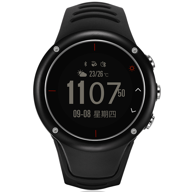 Men's Multi-Function Waterproof Smart  Sports Watch S23 With GPS  Heart Rate  Fitness Tracker Pedometer  Pair With  Bluetooth4.0 men s multi function waterproof smart sports running watch s2 with pedometer pair with android 4 3 ios6 0 or higher bluetooth