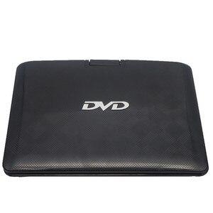 Image 5 - LONPOO 휴대용 DVD 플레이어 10.1 인치 회전 DVD 플레이어 DIVX USB 휴대용 TV Portatil DVD 플레이어 TV 자동차 충전기 RCA 배터리