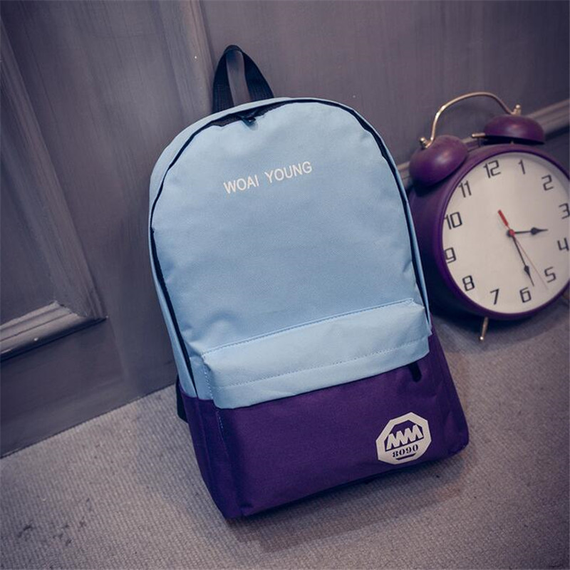 3Styles Womens Men Casual Backpack Girl School Fashion Shoulder Bag Rucksack Travel Bags hot free shipping