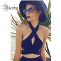 Big PROM! Free Shipping!  New VJ012 Fashion Sexy Key Hole Halter Bandage Crop Top