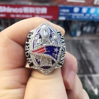 Dropshipping Replica Super Bowl LI 2016 New England Patriots Tom Brady Number 12 Championship Ring Size