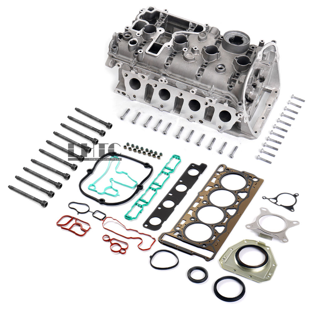 Expedited ship Cylinder Head & Seals Gaskets & Bolts For VW GTI AUDI A3 1.8 2.0 TFSI CCTA CCZB цена