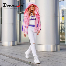 Donna-in Winter Martin Boots Women Platform Ankle Boots Heels White Motorcycle Punk Bootie