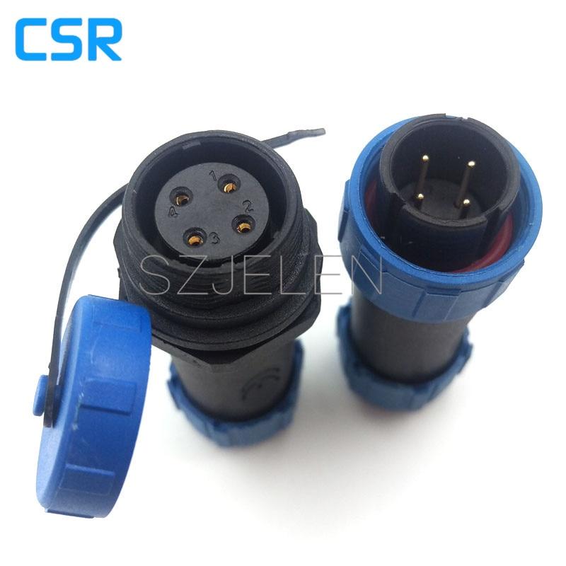 SY1710,  4 pin Waterproof Connector, IP68, circular connectors,Waterproof  high temperature connectors 4 pin plug sockets m83723 76r20326 [ circular mil spec connectors 26 20 6 12 pin plug] mr li
