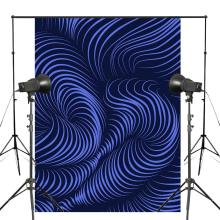 Abstract Style Photography Backdrops 5x7ft/150X210cm Dark Blue Background Art Photo Studio Props