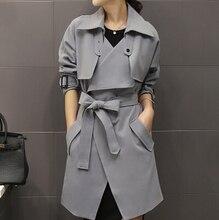 Trench Coat For Women 2016 New Winter Spring Fashion Brand Windbreaker Overcoat Casacos Femininos