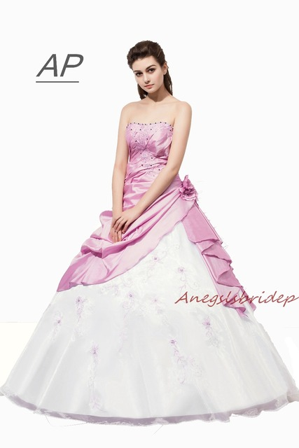 fb79cd2f38c7f US $57.12 16% OFF|ANGELSBRIDEP Fashion Quinceanera Dresses Vestidos De 15  Anos Embroidery Floor Length Debutante Gowns Special Occasion Dress-in ...