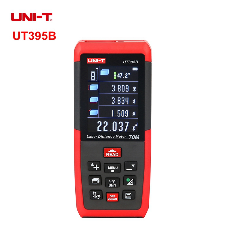 UNIT UT395B 70M Professional Laser Distance Meters Rangefinder Triangle Area Continuous Measure unit ut395a ut395b ut395c laser distance meters 50m 70m 100m rangefinder best accuracy software data calculate continuous measur