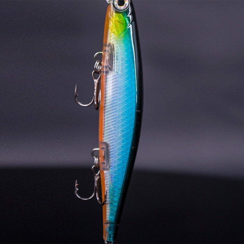 Image 2 - 2019 Artificial Jerkbait 11cm 15g Minnow Lure Wobbler Fishing Lure High Quality Hooks Shallow Diving Suspending-in Fishing Lures from Sports & Entertainment