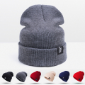 2016 New Design Fashion Winter Hat For Men Women Skullies Beanies For Women Knit Hat Unisex Headgear Female Cap Wholesale/Retail