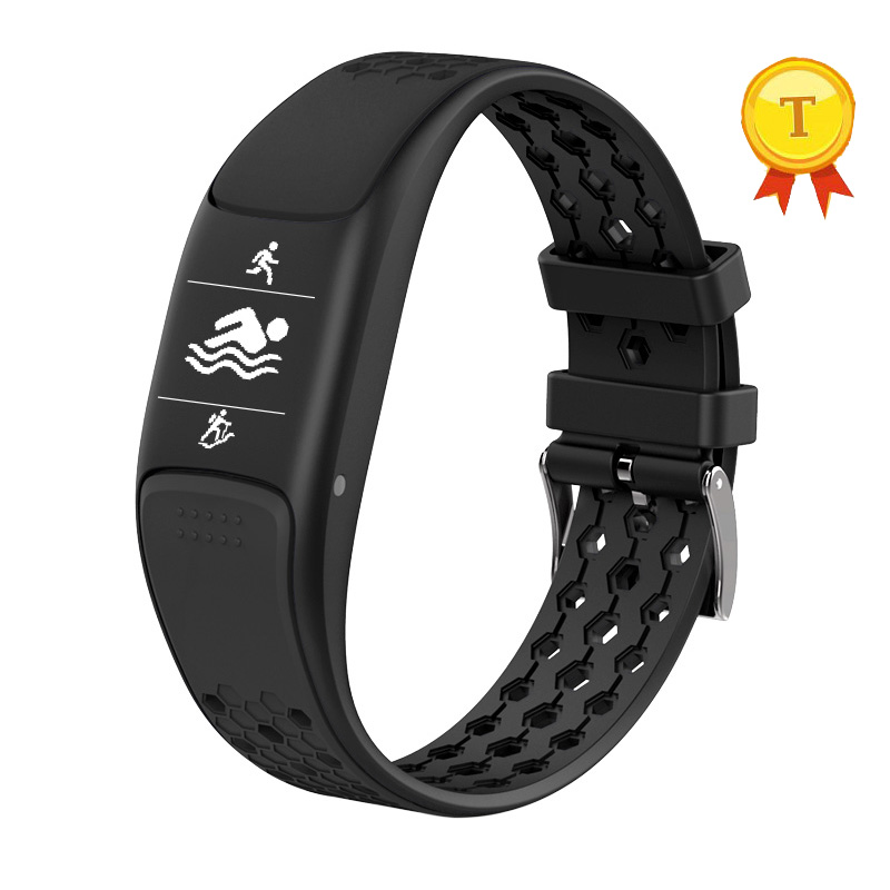 2018 GPS Smart Band Fitness Tracker Dynamic Heart Rate Monitoring 0.73 OLED Screen IP68 Waterproof Smart Wristbands Pedometer цена