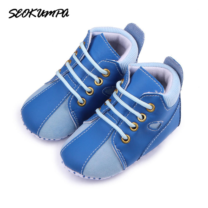Baby Shoes 2018 Spring Autumn Fashion Toddler Infants Shoes Bebe Soft Sole Baby Boys Shoes First Walkers Canvas Sneaker