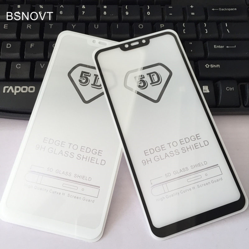 5D Screen Protector Glass For Vivo Y83 Pro Full Cover Anti-Explosion Tempered Glass For Vivo Y83 Pro Glass Full Glue Film BSNOVT