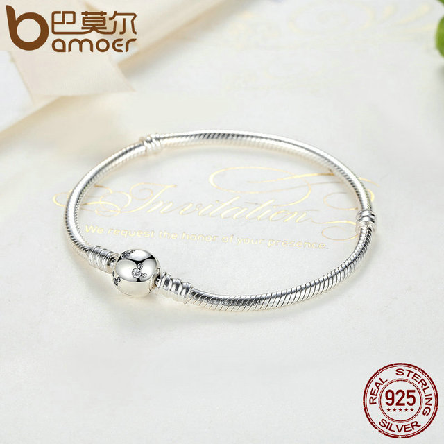 Sterling Silver Snake Miky Basic Chain