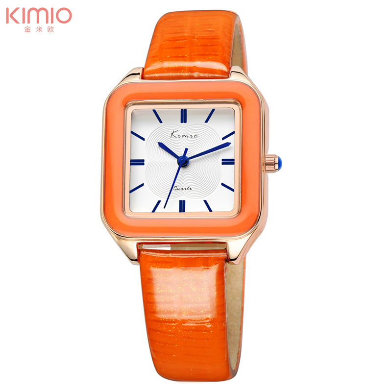 KIMIO women quartz watches leather dress watch fashion design ladies wristwatches 2017 luxury brand female gift clock kw518 xinge brand fashion women quartz wrsit watches clock leather strap business watch ladies silver luxury female sport womens watch