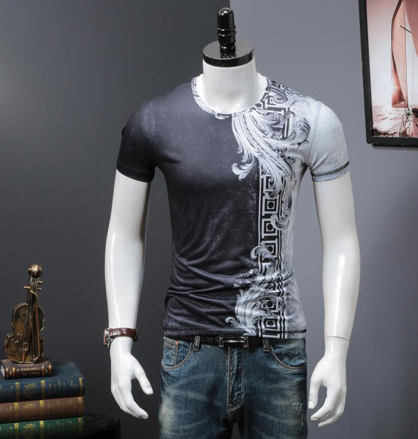 Men'S T shirt Pink 2018 new design men top tee short sleeved B962-in T-Shirts from Men's Clothing on Aliexpress.com | Alibaba Group 4