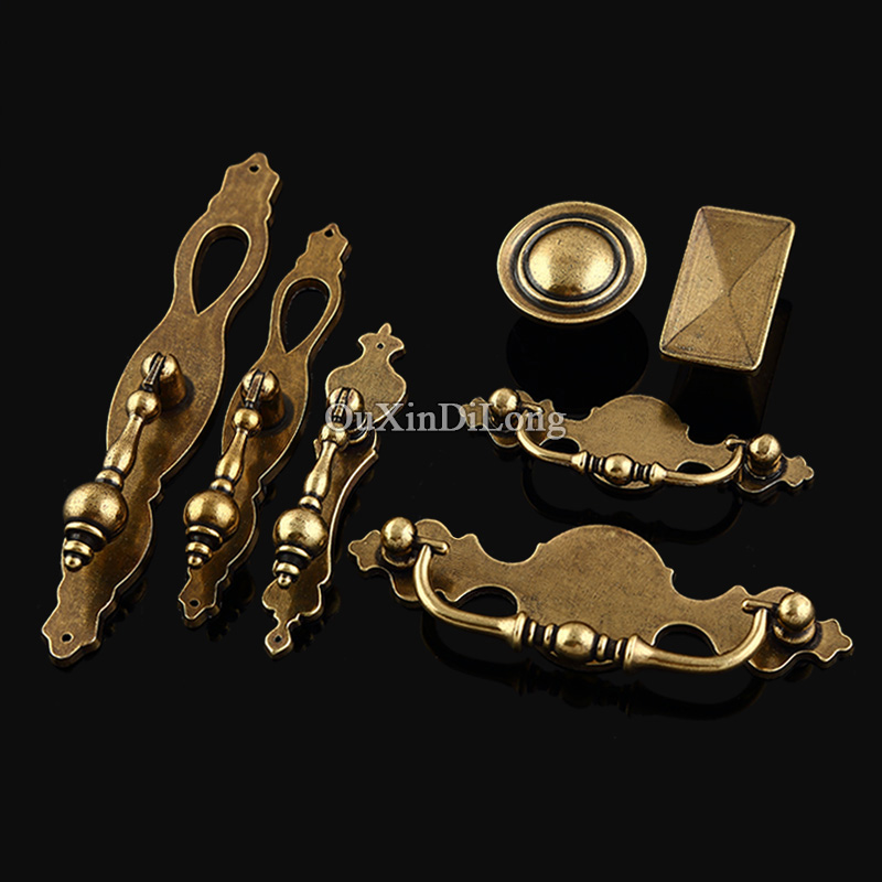 High Quality 10PCS/lot Furniture Handles European Antique Desk Drawer Cupboard Kitchen Cabinet Door Pulls Handles & Knobs high quality 10pcs european antique zinc alloy furniture door handle cupboard drawer kitchen wine cabinet pull handles and knobs