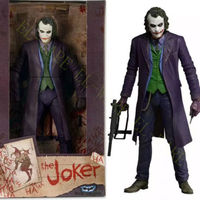 NECA The Dark Knight Joker (Heath Ledger) 1/4 Scale 18 Action Figure Model Anime Figure Collectible Model Toy