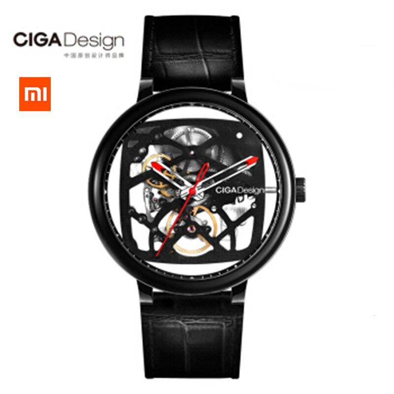 Original Xiaomi CIGA Design Series Mechanical Wristwatches Fashion Luxury Watch Men Women iF Design Gold Award Designer Brand xiaomi ciga design my series mechanical wristwatches fashion luxury watch men women if design gold award designer brand
