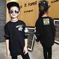 Removable Sleeves Cute Sweatshirts for Girls Fashion Cartoon Teenage Girl Hoodies Sweatshirts Loose Bat Sleeve Sweatshirts Child