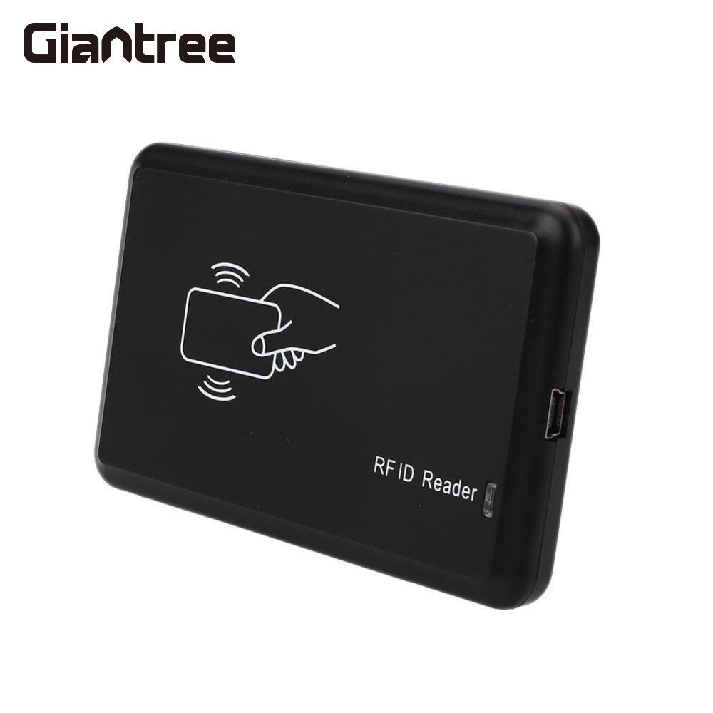 Giantree Contactless 14443A USB RFID ID Card Reader Proximity Smart Reader For Mifare Card Reader 13.56MHZ RFID Access Control usb port em4001 125khz rfid id contactless sensitivity smart card reader support window system