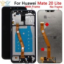الأصلي LCD لهواوي ماتي 20 لايت شاشة LCD تعمل باللمس محول الأرقام الجمعية استبدال لهواوي ماتي 20 لايت شاشة LCD
