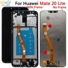 Orijinal lcd Huawei mate 20 lite lcd ekran dokunmatik ekranlı sayısallaştırıcı grup değiştirme için Huawei mate 20 lite lcd ekran