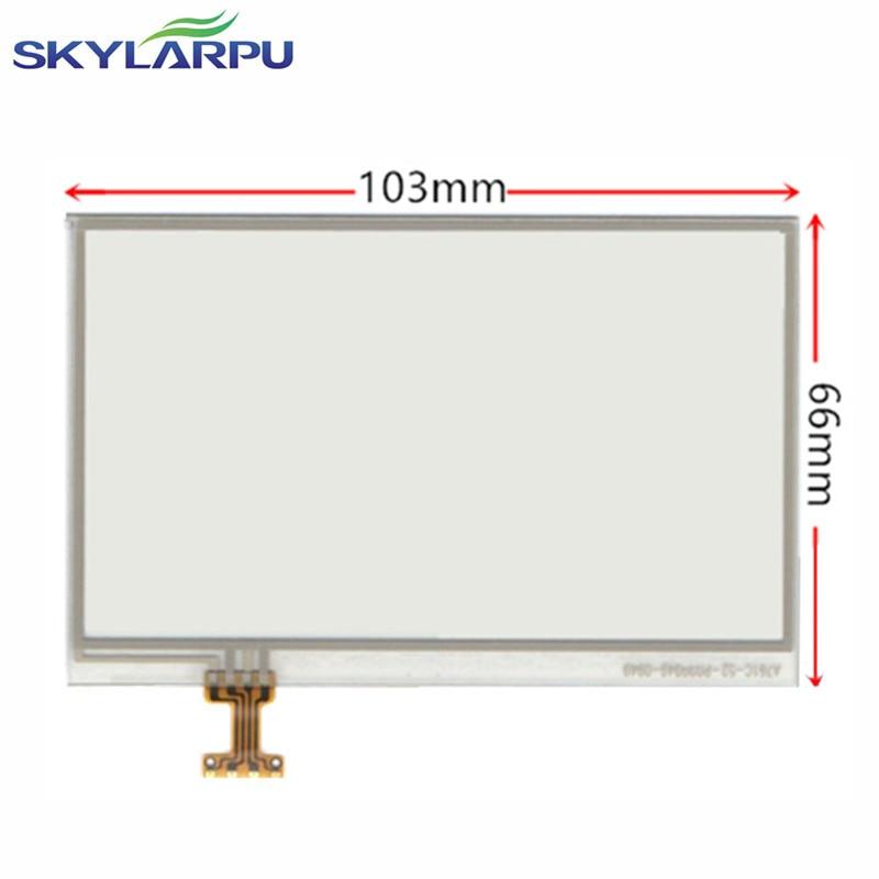 skylarpu New 4.3 inch Touchscreen for Garmin Zumo 660 600 650 660 Touch screen digitizer panel Repair replacement Free shipping