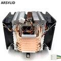 Кулер для процессора ARSYLID  3 шт.  9 см  4pin  вентилятор  6 тепловых труб  охлаждение для процессора Intel 4790k lga 1151  радиатор охлаждения для AMD
