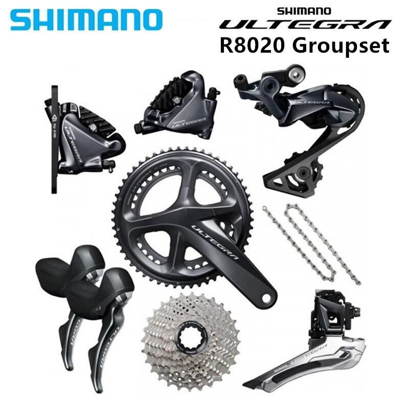 OE DHL Shimano Ultegra FC-R8000 2 x 11 speed 50-34T 170mm Road Bike Crankset