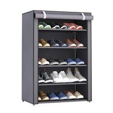 NAI YUE пылезащитный большой размер нетканый тканевый стеллаж для обуви, органайзер для обуви, для дома, спальни, общежития, стойки для обуви, полка, шкаф