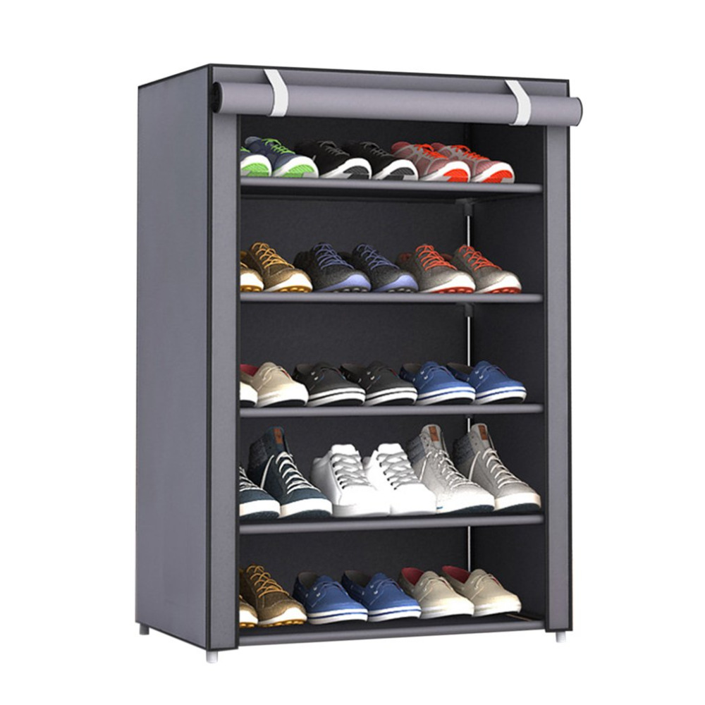NAI YUE Dustproof Large Size Non-Woven Fabric Shoes Rack Shoes Organizer Home Bedroom Dormitory Shoe Racks Shelf Cabinet