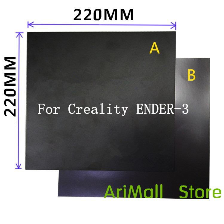 Office Electronics 1set 3d Printer Part Diameter 200mm Heatbed Magnetic Adhesive Sticker Flex Build Plate A+b Pc Insulation Film Kit