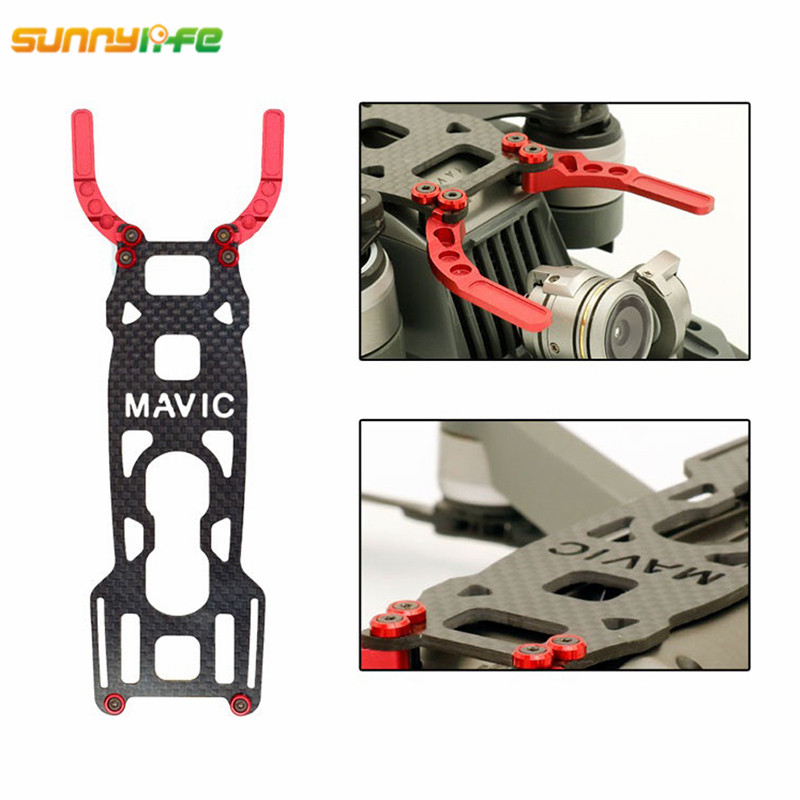 Sunnylife DJI MAVIC PRO 3K Carbon Fiber Protective Board Camera Gimbal Protector Protective Plate for dji mavic pro Drone