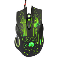 Professional Game Player Use Mouse 3200DPI LED Optical 6D USB Wired Gaming Game Mouse Pro Gamer