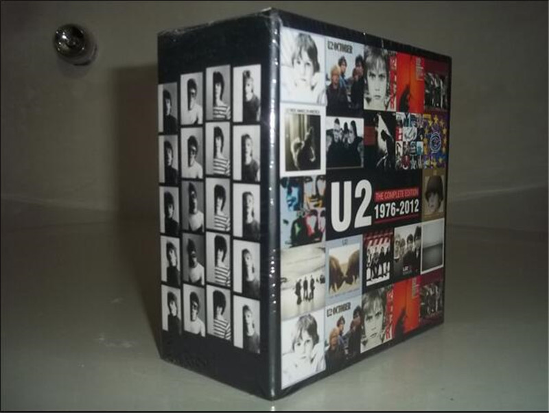 Free Shipping: U2 THE COMPLETE EDITION 1976-2012 BOX 19CD SEAL