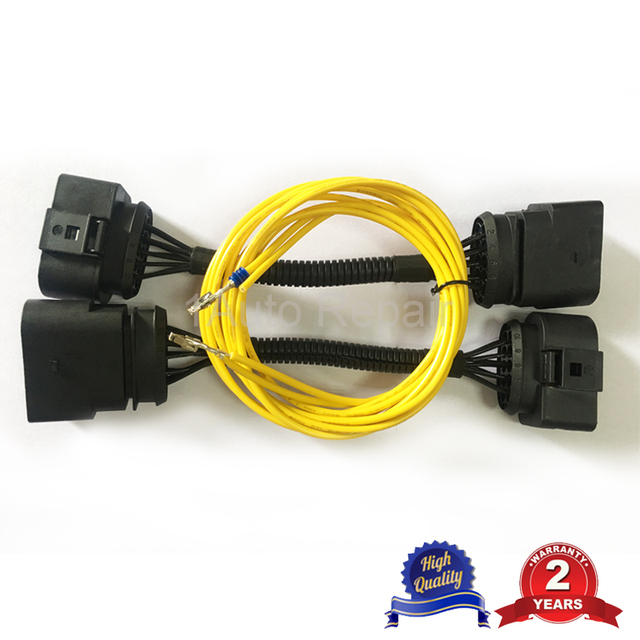 Wire Harness Connector for VW Transporter T5 Headlight Conversion T5
