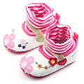 2017 Floral Baby Girl Shoes Slip On Cotton Baby Boots Soft Sole Princess Toddler Shoes 1 Pair