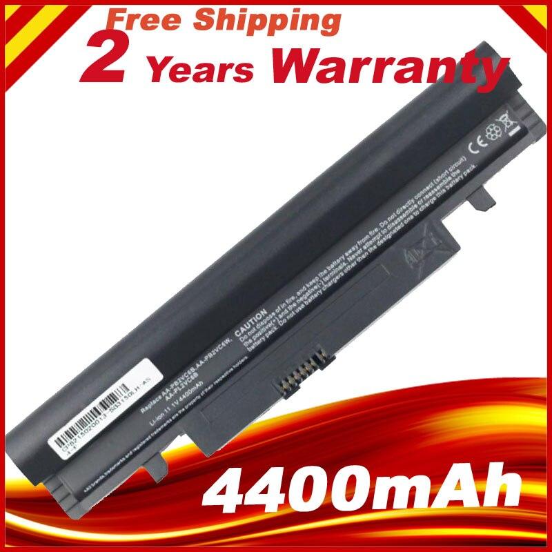 цена Laptop Battery 4400MAH For N102 N150 N143 N145 N250 N260 NP NT AA-PB2VC6B PB2VC6W PL2VC6W PL2VC6W/E PB3VC3B Black