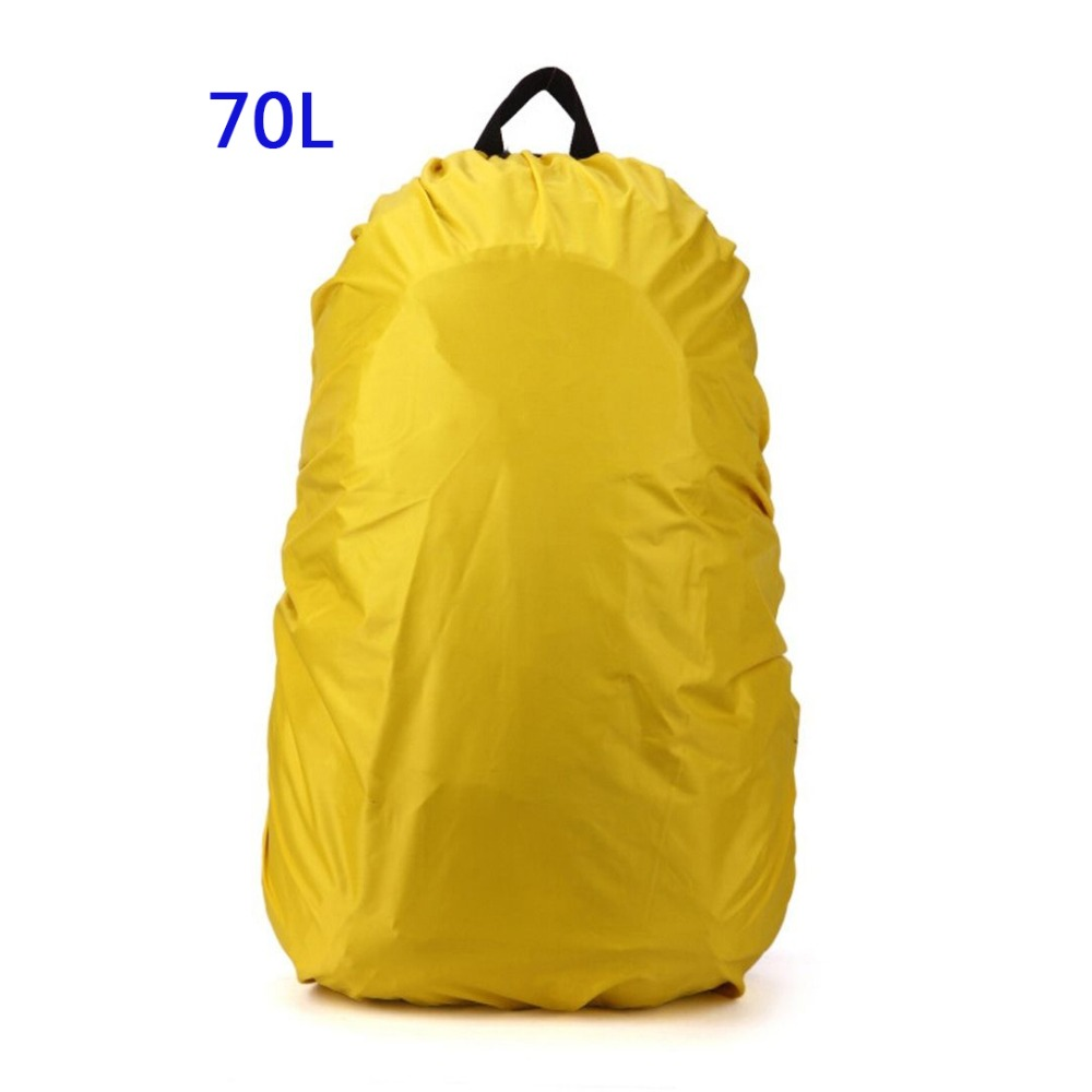 Beau 70l Новый Водонепроницаемый дорожный аксессуар рюкзак пыль дождевик