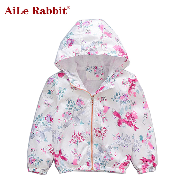 785cdc059 Manteau Fille Aile Rabbit New Girl Sunscreen Coats Fashion Boy Baby ...