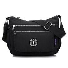 Women Messenger Bags Nylon Women Shoulder Bag Hobos Tote Crossbody Bags Fashion Ladies Handbags Female School Bags Sac A Main стоимость