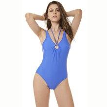 One-Piece Swimwear Beachwear 2019 Mujer Swimsuit New Style Brazilian Bathing Suits Women Female Beach Wear