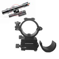 Tactical 25.4mm/30mm Ring Mounts For 20mm Rails Scope Mounts for ak 47 Rifle ADM 2530 Adjustable Riflescope Mount Ring