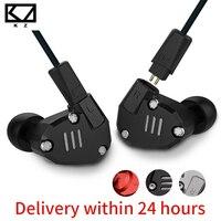 KZ ZS6 2DD 2BA Hybrid In Ear Earphone HIFI Stereo Earphones Sport Earphone Earplug Headset Earbud
