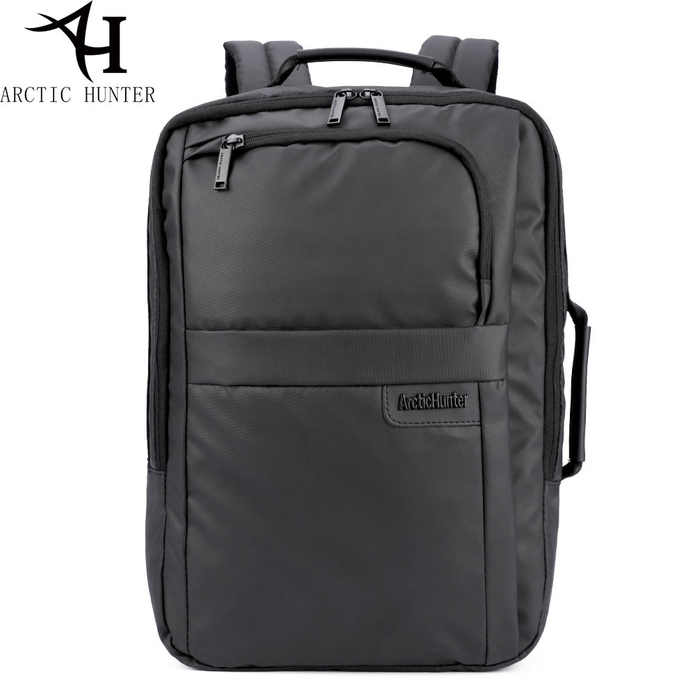 ARCTIC HUNTER 17 inches High black Backpacks Men 15.6 inch Laptop Computer Backpacks Male Waterproof Man Business work Dayback