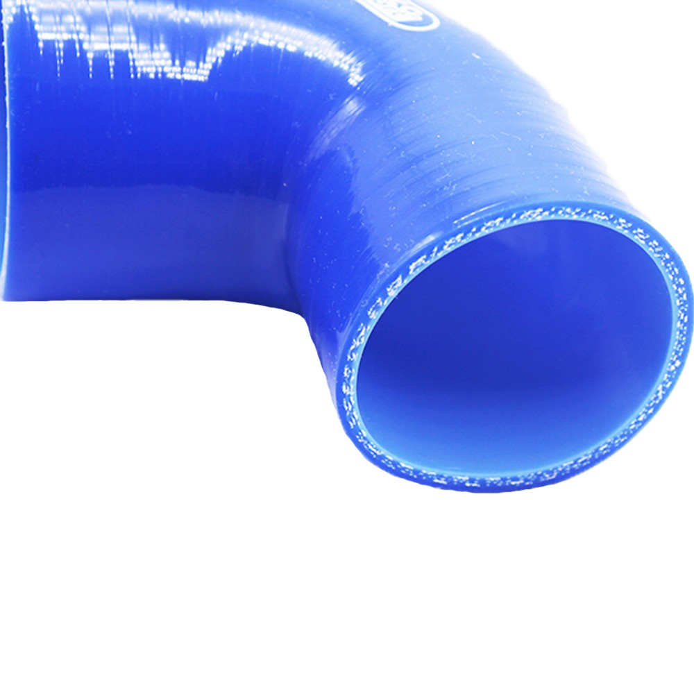 Blue 19mm  13mm 90 degree Reinforced Silicone Reducer Hose Elbow for Turbo or Coolant ID